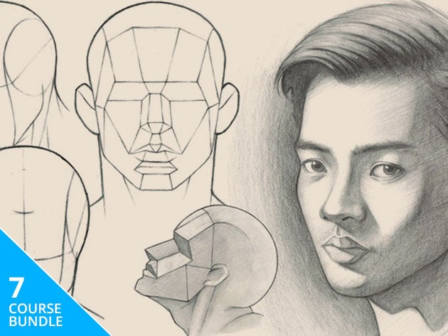 Master the fundamentals of drawing with this creative course bundle