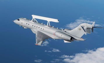 Saab's new spy plane has a powerful piece of hardware on top