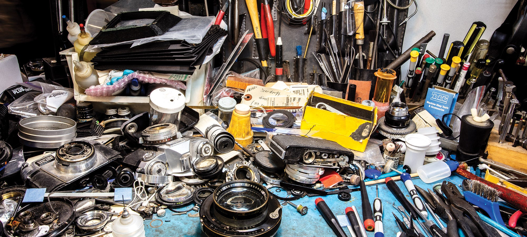 Inside New York City's vanishing community of repair shops