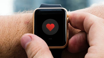 Apple Watch Series 4 with heart screen and best fitness and health apps