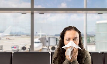 How to stay healthy on your next germ-filled flight