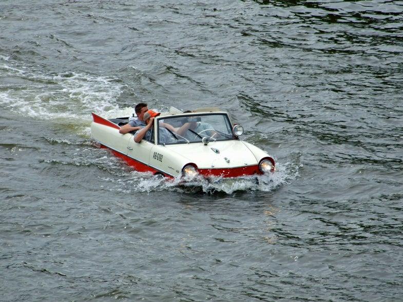 Dude, where's my amphibious car?