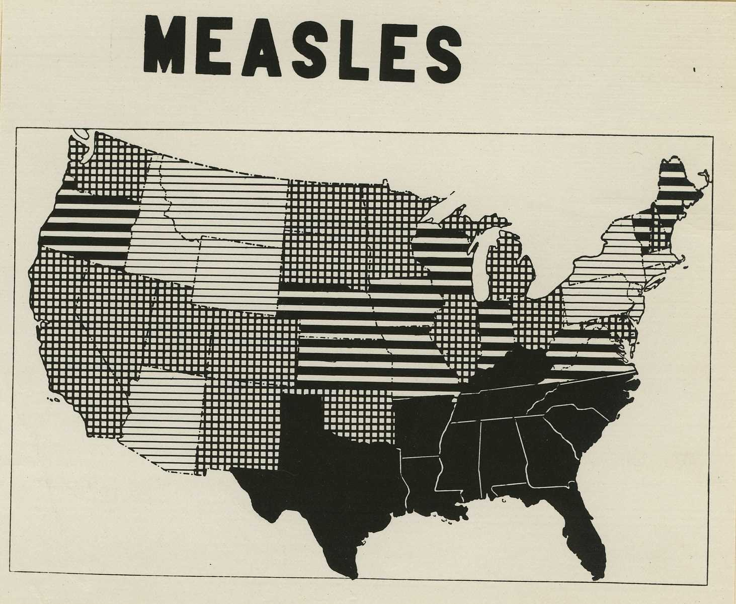 Measles cases aren't spiking, despite talk of an outbreak