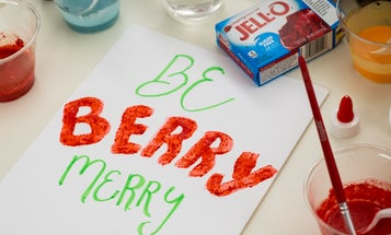 Make magical scratch-and-sniff holiday cards with the kids