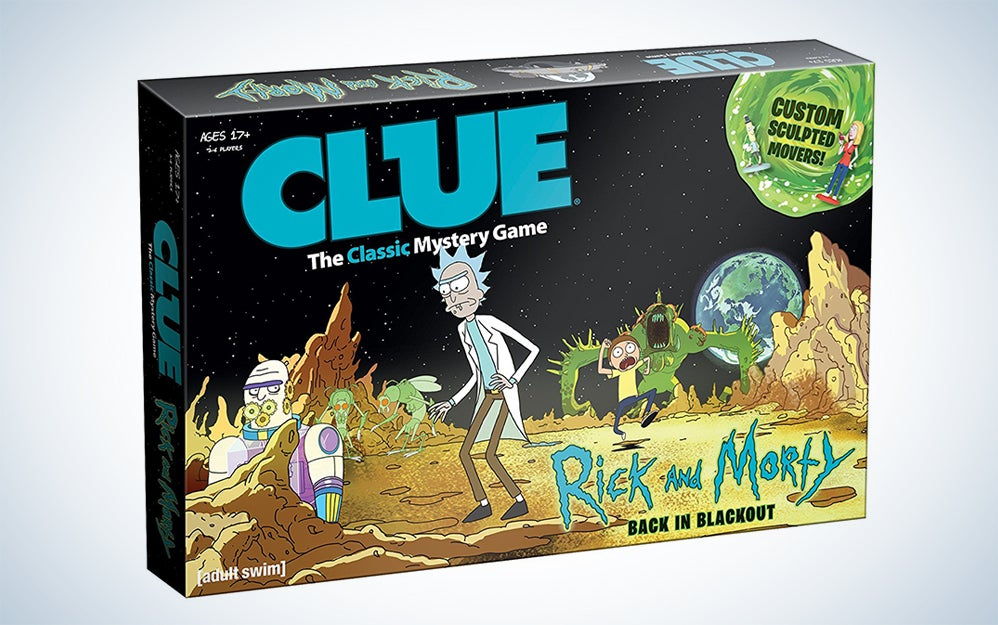 Rick and Morty Clue