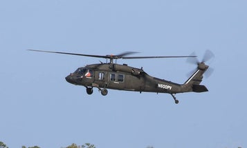 Watch a digitally-upgraded Black Hawk helicopter fly for the first time