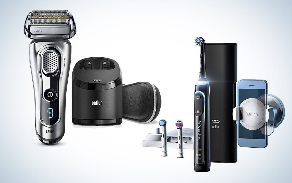 Braun shavers and Oral-B electric toothbrushes