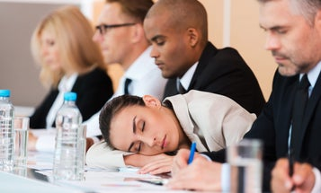 Dozing off in a meeting? It could be the air.