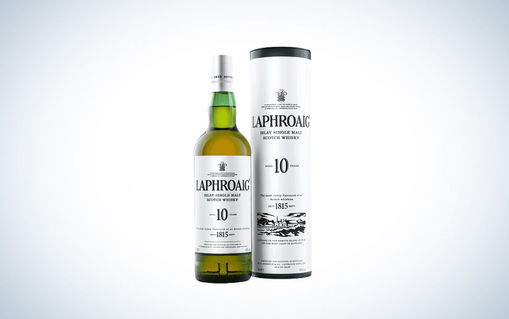 Laphroaig 10-year scotch whisky