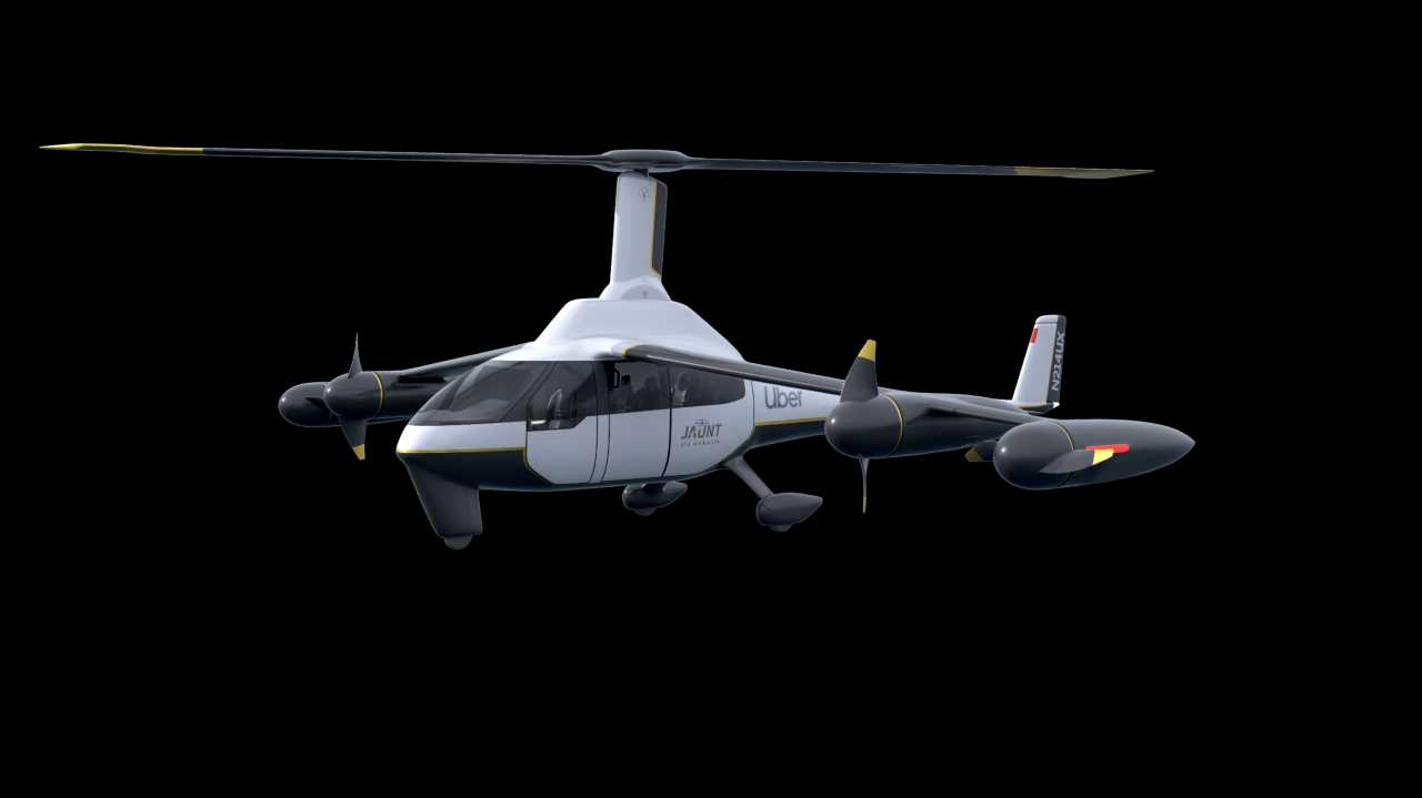 This frankencopter could be Uber's flying taxi of the future