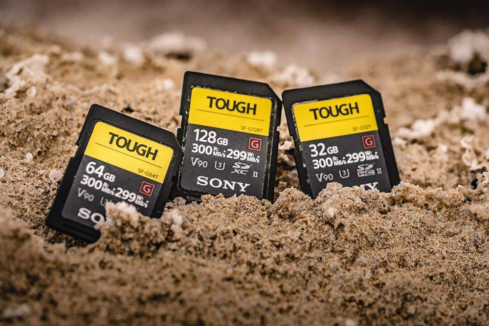 Sony Tough Cards