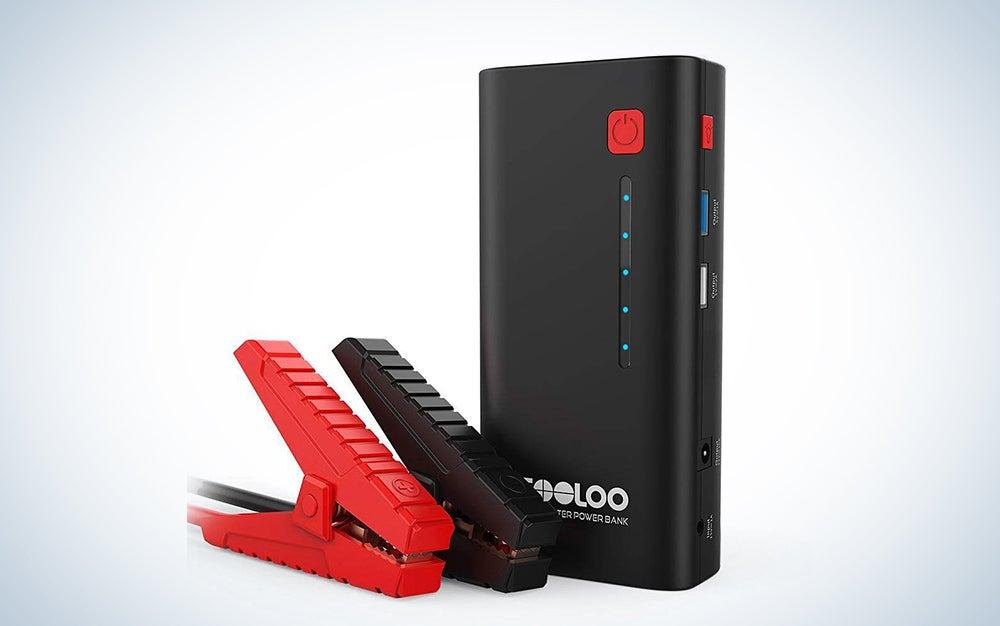 GOOLOO portable jump starter