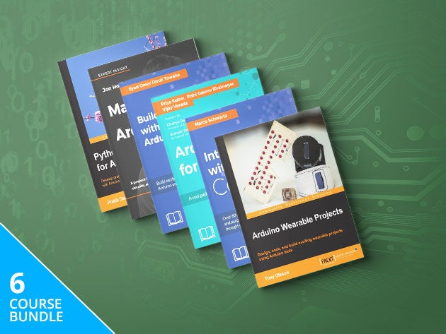 Want to master Arduino? You can pay what you want for this e-Book bundle