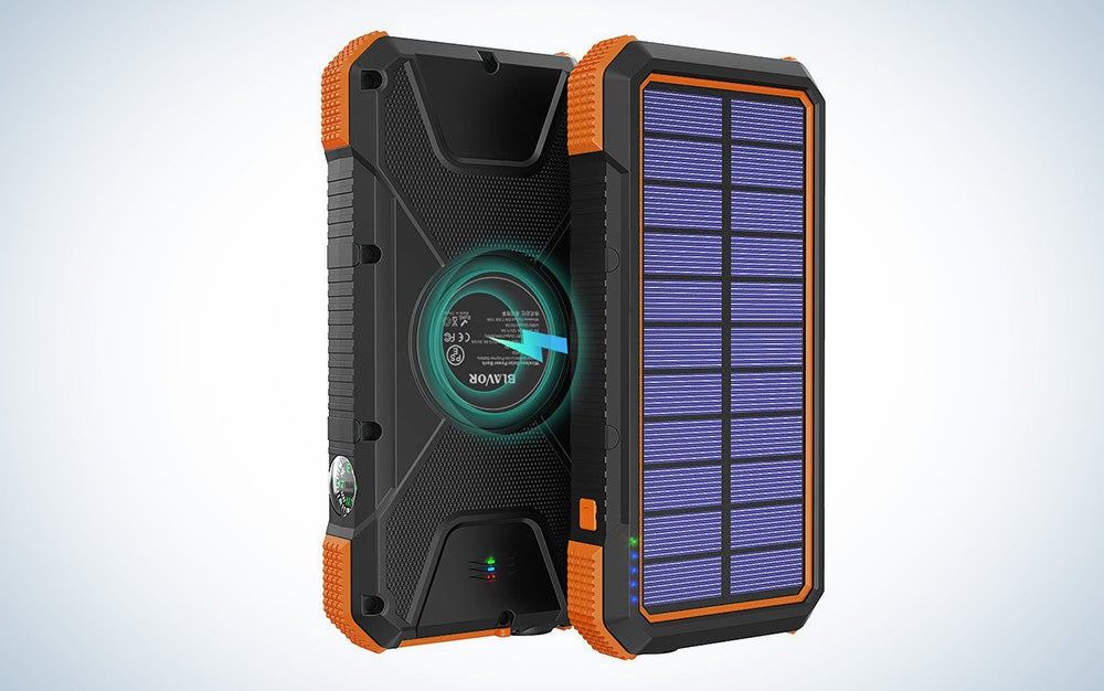 BLAVOR solar power bank