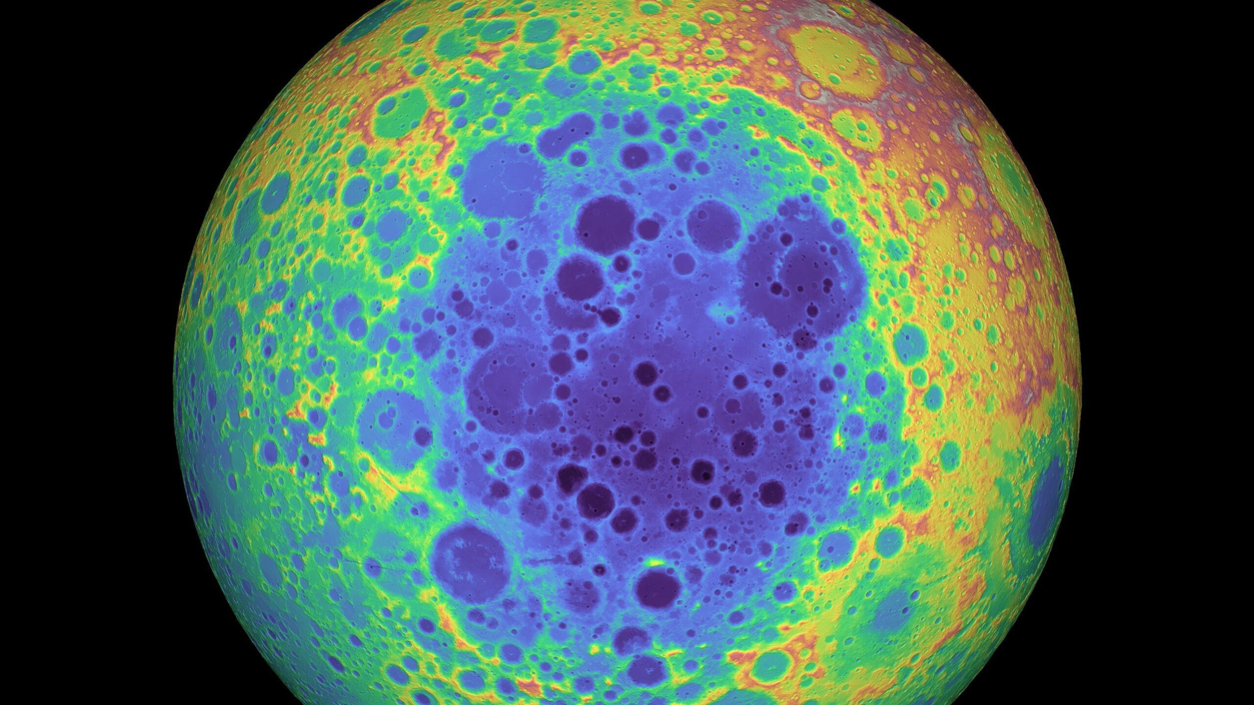 The moon's south pole is hiding something massive and mysterious