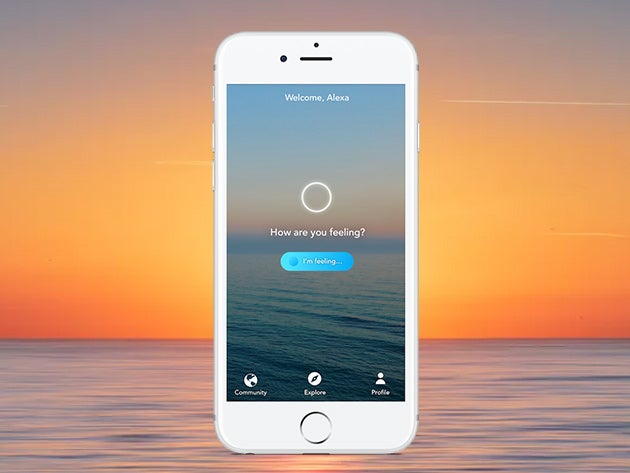 Relieve stress and anxiety in minutes with the Aura Meditation App