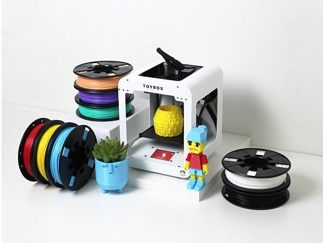 Toybox is a 3D printer designed specifically for kids