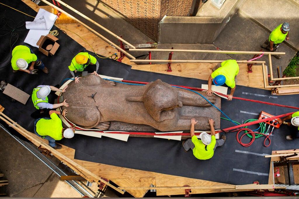 Sphinx Penn Museum Egypt museum