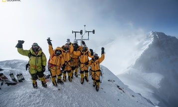 We battled hordes of tourists to put a weather station in Everest's 'death zone'