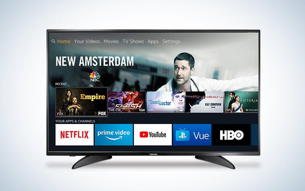 Toshiba 43-inch smart LED TV