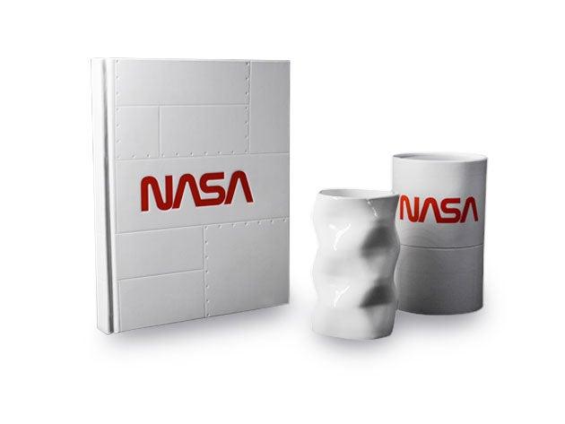 NASA AR Notebook and NASA Space Mug Bundle