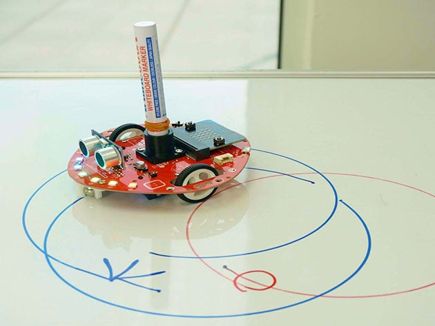 Learn robotics and dive into code with this fun DIY kit