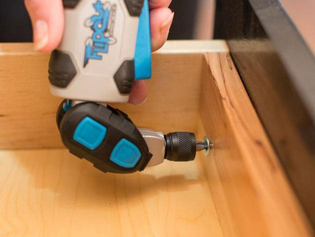 Flip Out Rechargeable Screwdriver and Bit Set