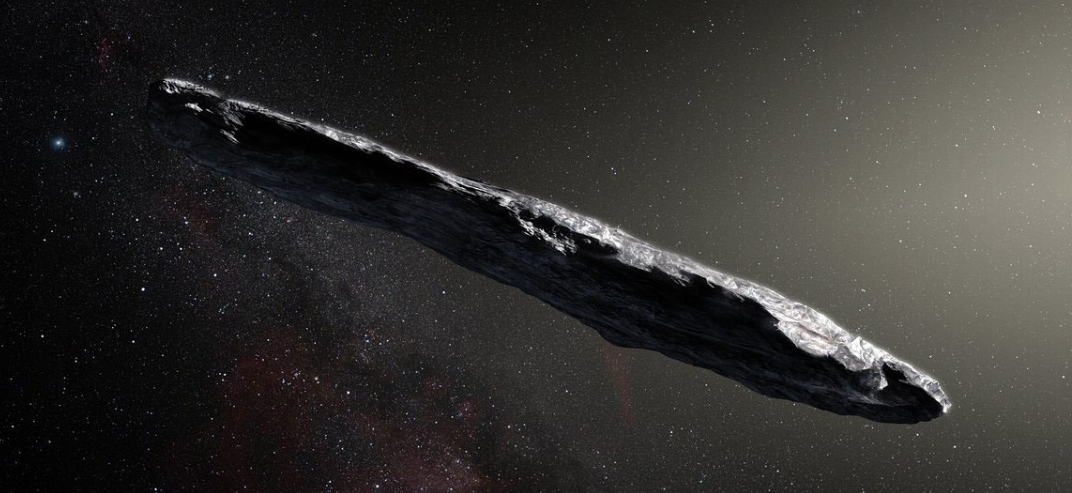 That giant cigar that zipped through our solar system definitely wasn't a spaceship