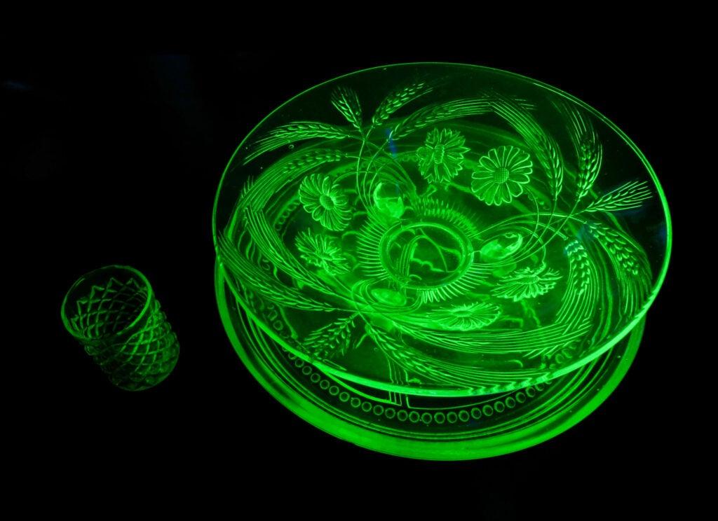 uranium glass history decorative arts radioactive