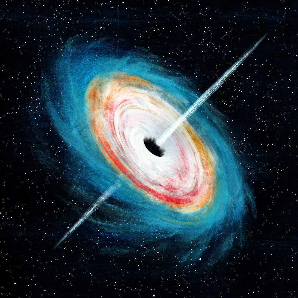 We might finally know how the first black holes formed