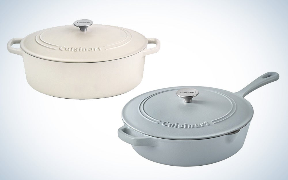 Cuisinart cast iron cookware