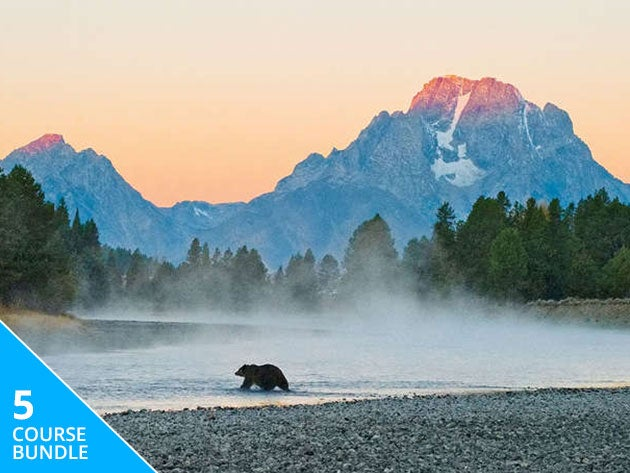 Learn how to capture the best of nature with this outdoor photography bundle