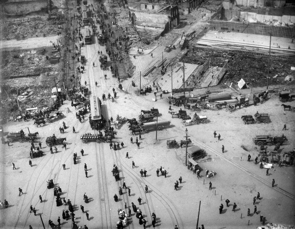 san francisco earthquake 1906 damage