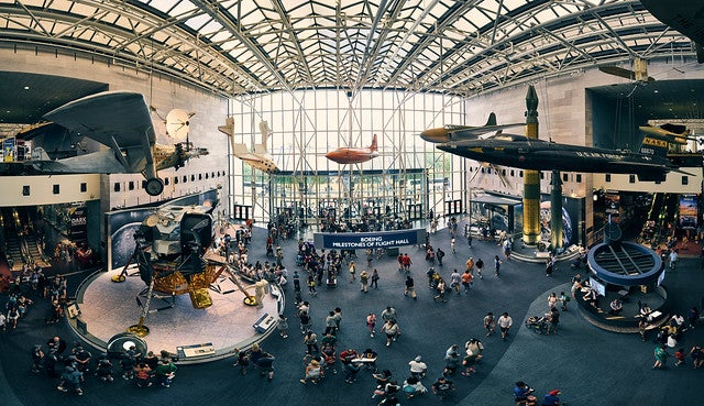 Smithsonian Air and Space Museum deaccession collections curation