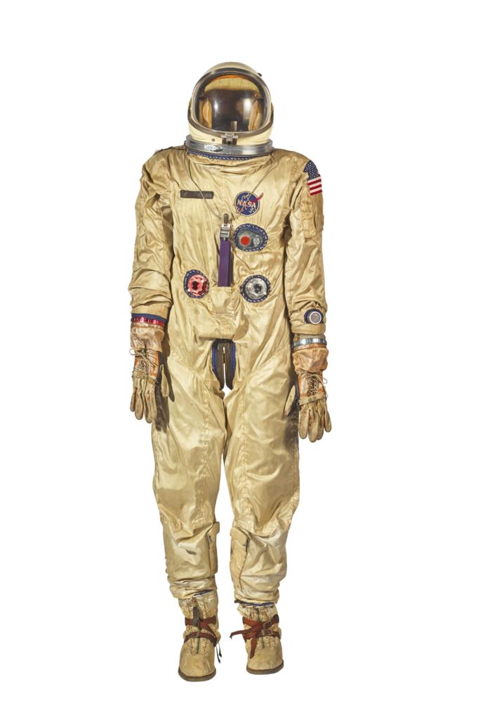 Gemini spacesuit auction Space Age moon rocks Sotheby's