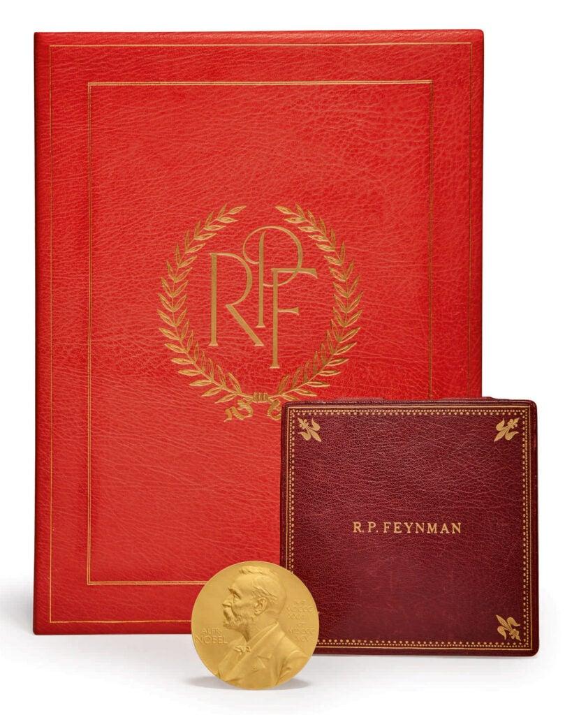 Auction Richard Feynman Nobel Prize physics auction for sale