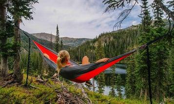 Camping hammocks free you from tent tyranny