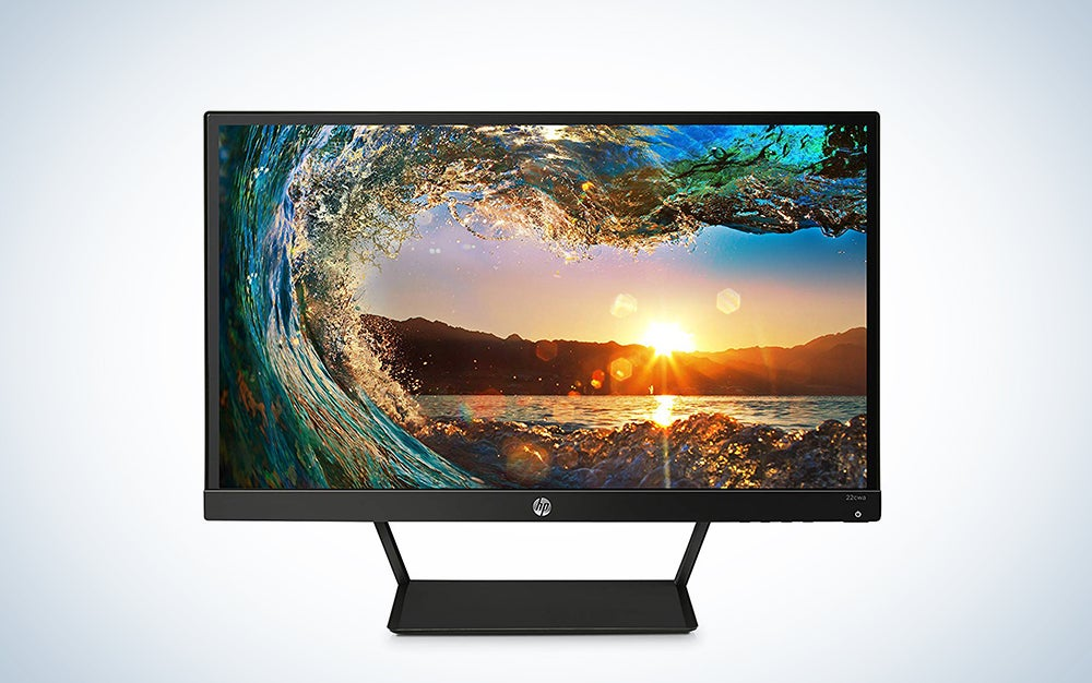HP 21.5-inch IPS LED monitor
