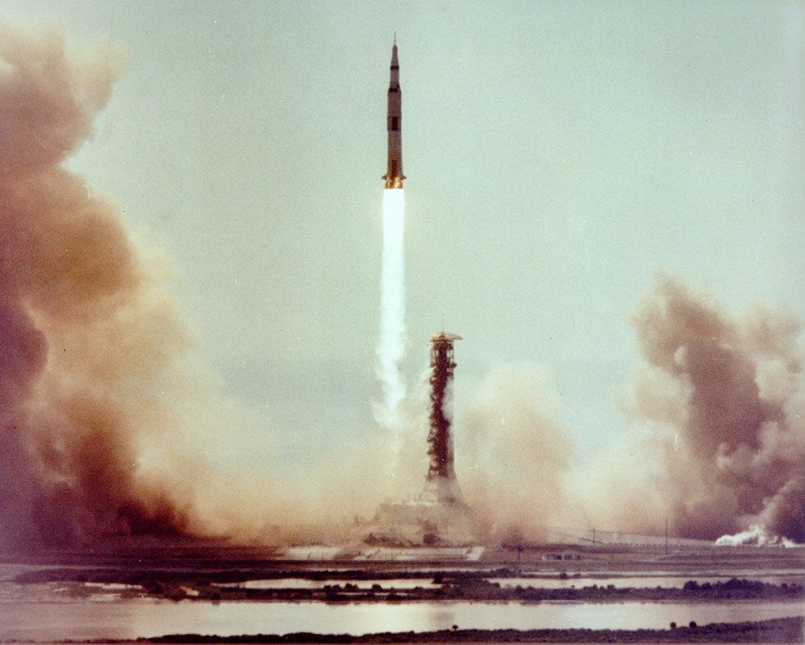 The Apollo 11 mission as told through the astronauts' heart rates