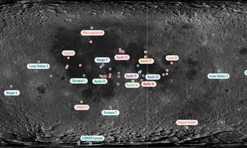 Money, shoes, poop, and other highlights from the 796 items we've left on the moon