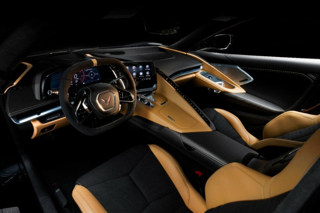 2020 Chevy Corvette Stingray Interior