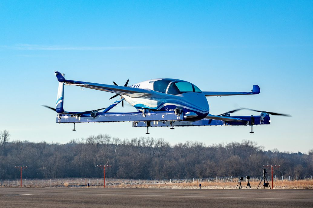 A Boeing air taxi prototype crashed last month. That might be a good thing.