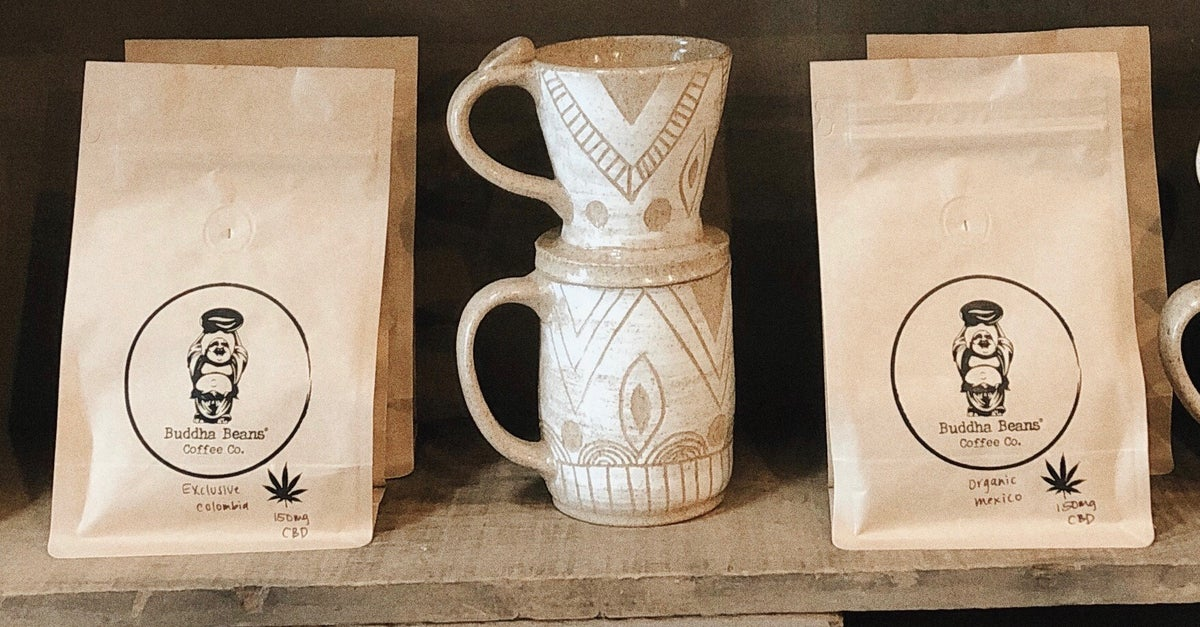 Buddha Beans offers high-quality coffee infused with CBD