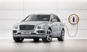 Bentley's Bentayga Hybrid hints at its future in electric luxury vehicles