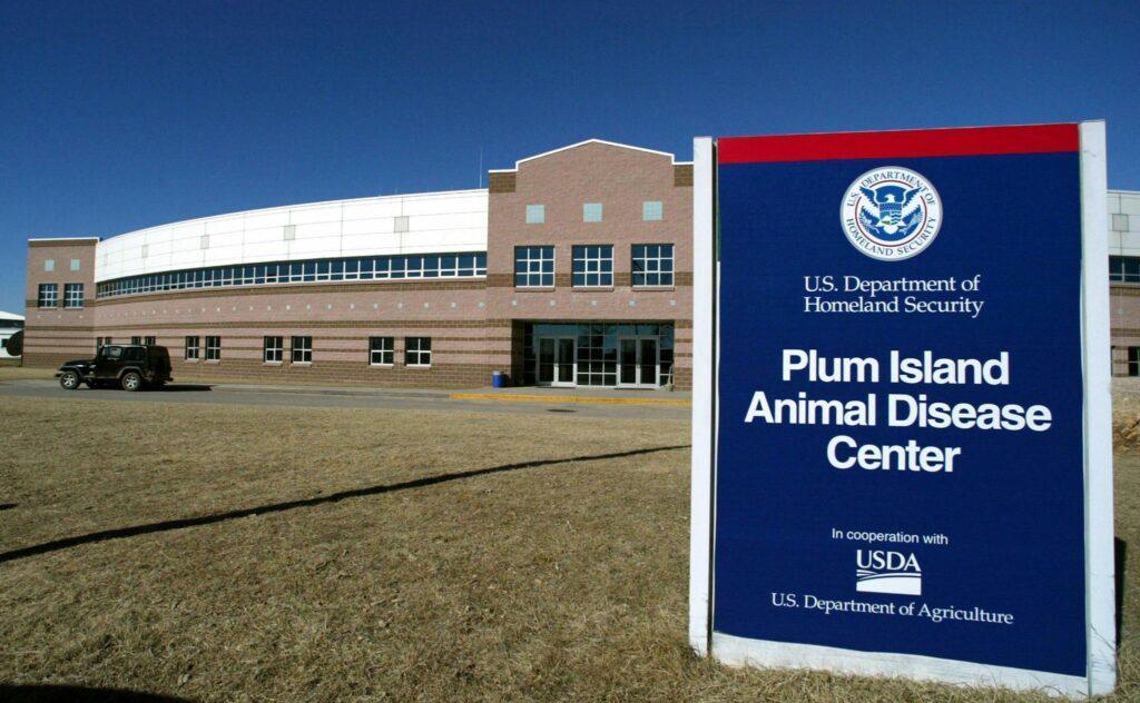 research center on Plum Island
