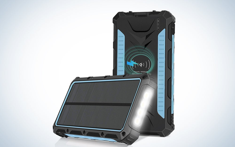 NexGadget Solar Charger 20,000mAh