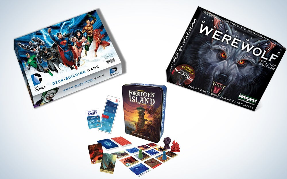 Savings on board and card games