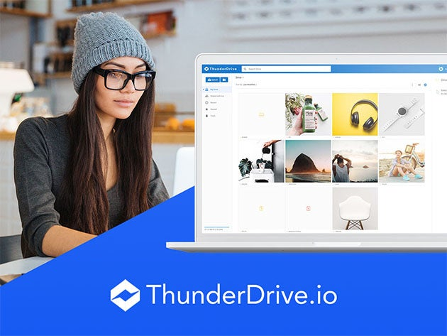 ThunderDrive offers secure cloud storage at a reasonable price