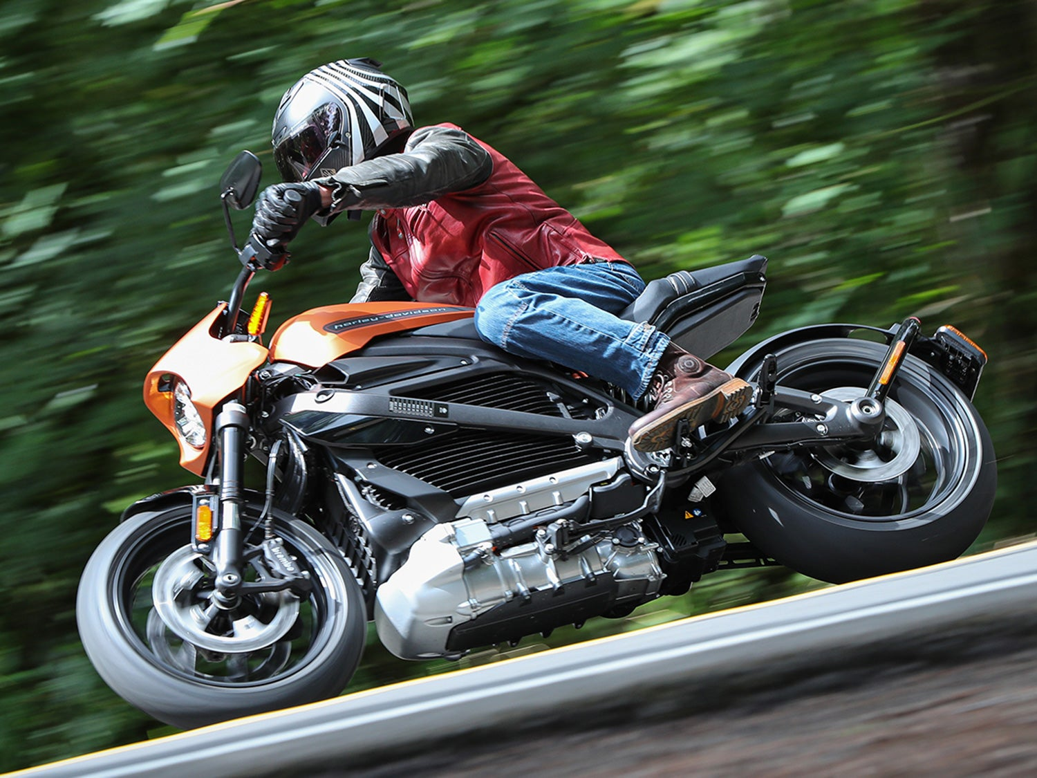 First ride: Harley-Davidson's new all-electric motorcycle