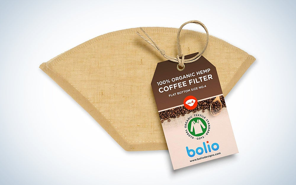 Bolio Hemp Cone Coffee Filter